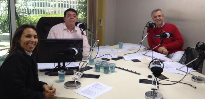 Andrea Matarazzo, Luiz Ribeiro e Marina Vasconcellos.