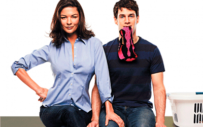 Recorte do cartaz de Novidades no amor (2009)