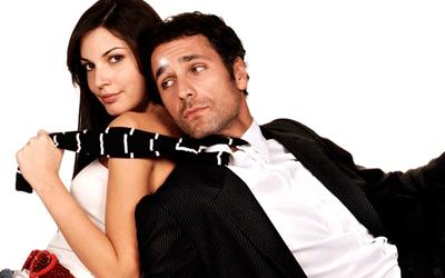 Recorte do cartaz de Lições de amor (2008)