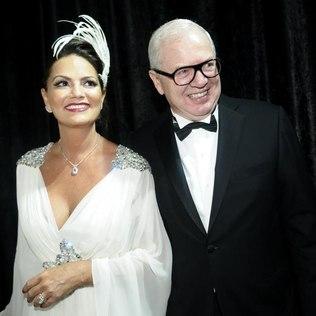 """Luzia Brunet e o namorado Lírio Parisotto: """"aos 50, você fica mais esperta, mais ousada, mais exigente"""". (Foto: AgNews)"""