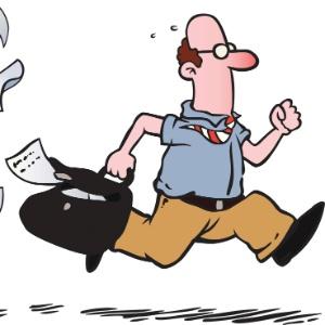 Estar sempre atrasado irrita amigos, familiares e colegas e dificulta a vida da própria pessoa (Foto: Thinkstock)