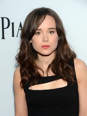 Ellen Page, de Juno, fez um discurso emocionado se declarando gay. (Foto: Getty Images)
